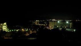 Coucher du soleil de Timelapse Chypre Ayia Napa banque de vidéos