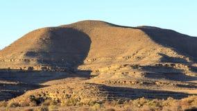 Coucher du soleil de Timelapse dans la montagne, Namibie clips vidéos