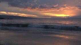 Coucher du soleil de Timelapse Hawaï clips vidéos