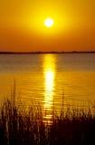 Coucher du soleil en Argentine nordique Images stock