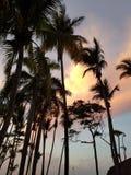 Coucher du soleil en République Dominicaine Puerto Plata photos stock