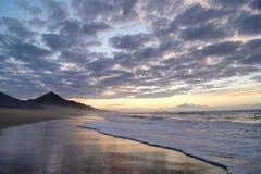 coucher du soleil exotique Photo libre de droits