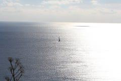 Coucher du soleil, Gozo Photographie stock