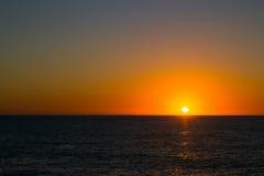 Coucher du soleil gracieux Photographie stock