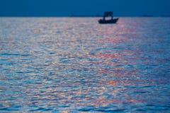 Coucher du soleil pour le fond Photo stock