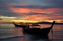 Coucher du soleil renversant Photographie stock libre de droits