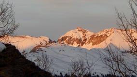Coucher du soleil Ridge photo libre de droits