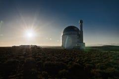 Coucher du soleil solaire photo stock
