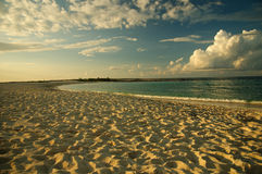 Coucher du soleil spectaculaire Image stock