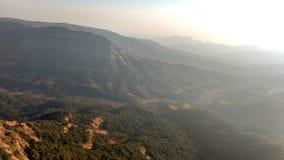 Coucher du soleil supérieur 76 de colline Photographie stock libre de droits