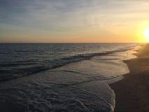 Coucher du soleil sur Sanibel image libre de droits