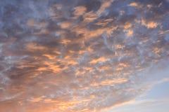 Coucher du soleil tropical de mer image libre de droits