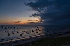 coucher du soleil Vietnam Photo libre de droits