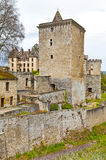 Couches castle, Saone-et-Loire, Burgundy. France Royalty Free Stock Photos