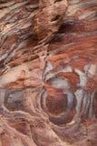 Couches colorées de grès Image stock
