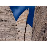 Couches de désert du Nouveau Mexique de porte-malheur d'érosion image stock