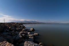 Couches de lac Images stock