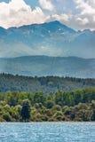 Couches de montagne Image libre de droits