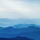 Couches de montagne Photos libres de droits