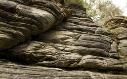 Couches de roche Images libres de droits