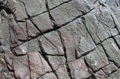 Couches de roche d'ardoise Photographie stock