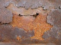 Couches en métal de rouille Photo stock