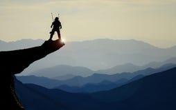 Couches peu communes et fascinantes de montagne Image stock