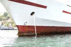 Couchette de bateau Images libres de droits