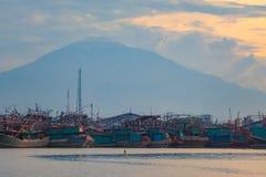 Couchette de bateau de pêche image libre de droits