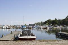 Couchette pour des yachts photo stock