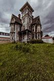 Coudersport House. Once one of the most lavish houses in Pennsylvania, now literally a shell Royalty Free Stock Photography