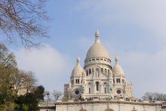 couer神圣的巴黎 免版税库存照片