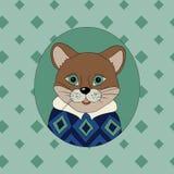 cougar Beeld voor kleren Royalty-vrije Stock Foto's