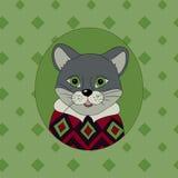 cougar Beeld voor kleren Royalty-vrije Stock Foto
