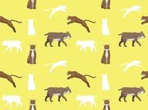 Cougar Bobcat Wallpaper Royalty Free Stock Image