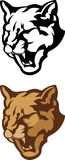 Cougar Head Mascot Vector Logo Stock Photography