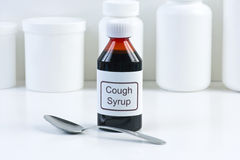 Cough Mediciine Stock Images