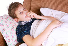 Coughing Royalty Free Stock Photos