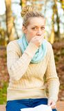 Coughing Royalty Free Stock Images