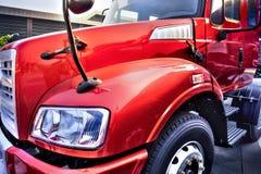 Couillon de camion rouge Photos stock