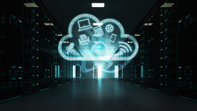 Could computing server room Royalty Free Stock Photography