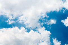 Could day. With blue sky Royalty Free Stock Photos