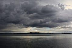 Coulds de la tormenta Imagen de archivo libre de regalías