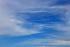 Coulds del cielo blu Immagine Stock Libera da Diritti