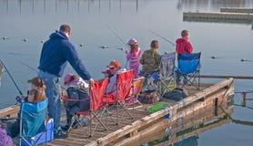 Coulee City Banks Lake Fishing Derb Stock Photo