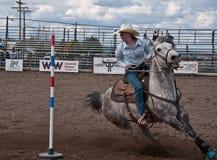 COULEE CITY, WA - APRIL 16 - Teen Rodeo Stock Photos