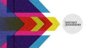 Couleur abstraite de gradation de texture de fond Arc-en-ciel pour la conception Image libre de droits
