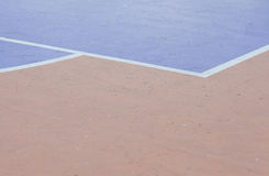 Couleur abstraite sur le plancher de surface en béton Photographie stock