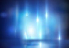 Couleur bleue image stock