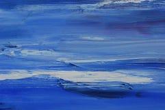 Couleur bleue Photo libre de droits